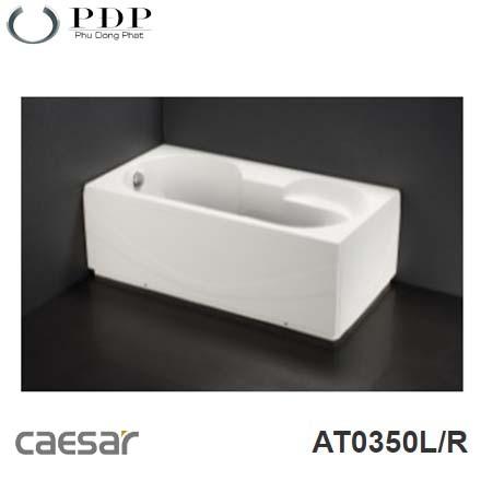 Bồn Tắm Chân Yếm Caesar AT0350L/R