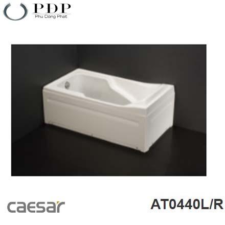 Bồn Tắm Chân Yếm Caesar AT0440L/R