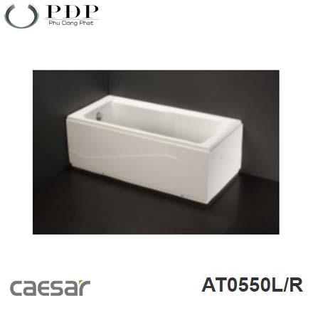 Bồn Tắm Chân Yếm Caesar AT0550L/R