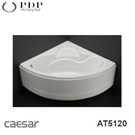Bồn Tắm Góc Chân Yếm Caesar AT5120