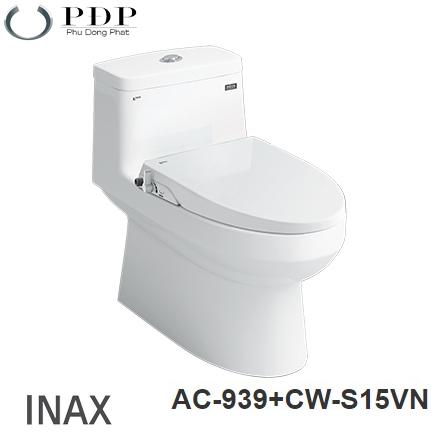 Bồn Cầu Inax AC-939+ Nắp Rửa Cơ CW-S15VN