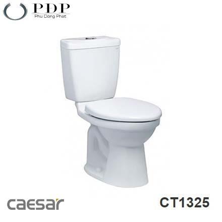 BỒN CẦU HAI KHỐI CAESAR CT1325