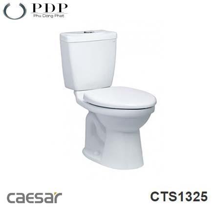 BỒN CẦU HAI KHỐI CAESAR CTS1325