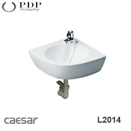 LAVABO CAESAR TREO TƯỜNG L2014