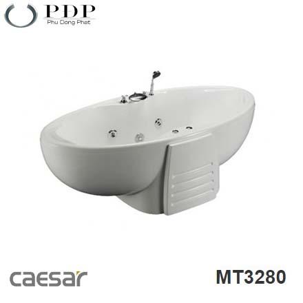 Bồn Tắm Đặt Sàn Massage Caesar MT3280