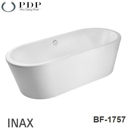 Bồn Tắm Acrylic Inax BF-1757V Lập Thể 1.75M