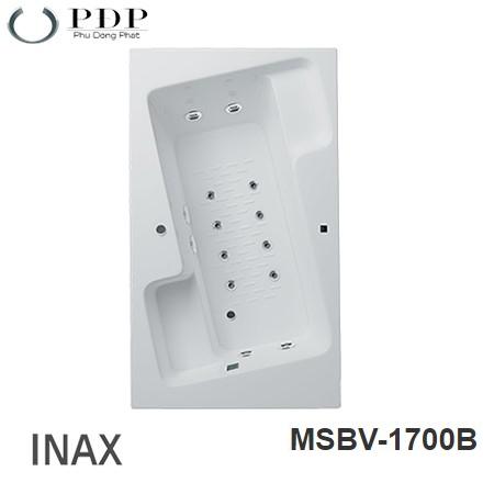 Bồn Tắm Massage Inax MSBV-1700B 1.7M