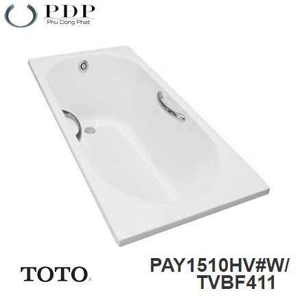 Bồn Tắm ToTo PAY1510HV#W/TVBF411 Xây 1.5M