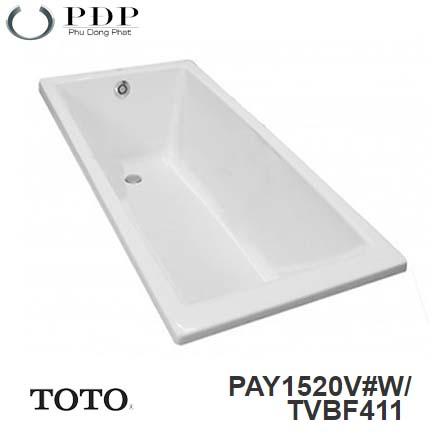 Bồn Tắm ToTo PAY1520V#W/TVBF411