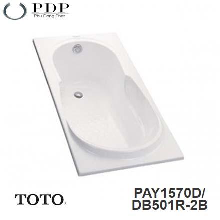 Bồn Tắm ToTo PAY1570D/DB501R-2B Xây 1.5M