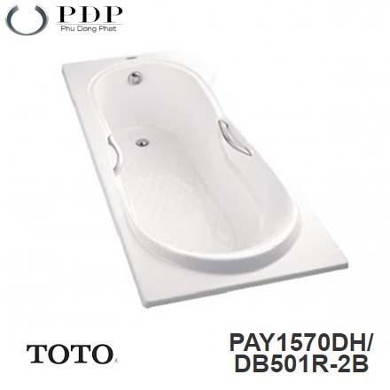 Bồn Tắm ToTo PAY1570DH/DB501R-2B Xây 1.5M
