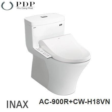 Bồn Cầu Điện Tử Inax AC-900R + Nắp Rửa Điện Tử CW-H18VN